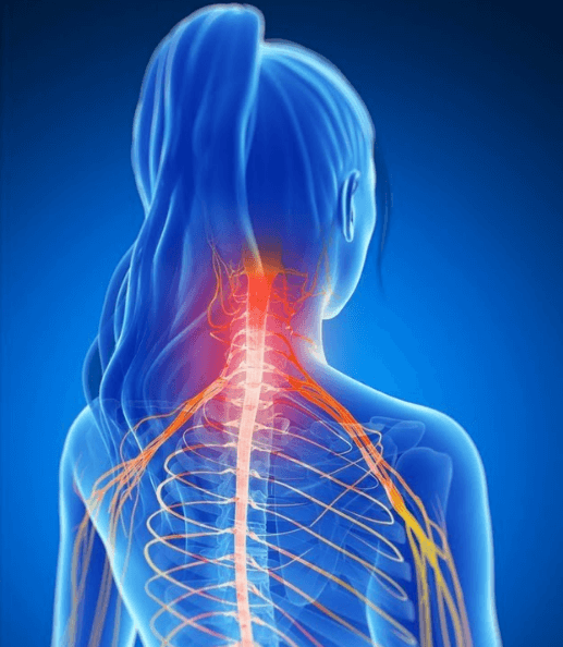 pain relief from heating pad. causes of neck pain